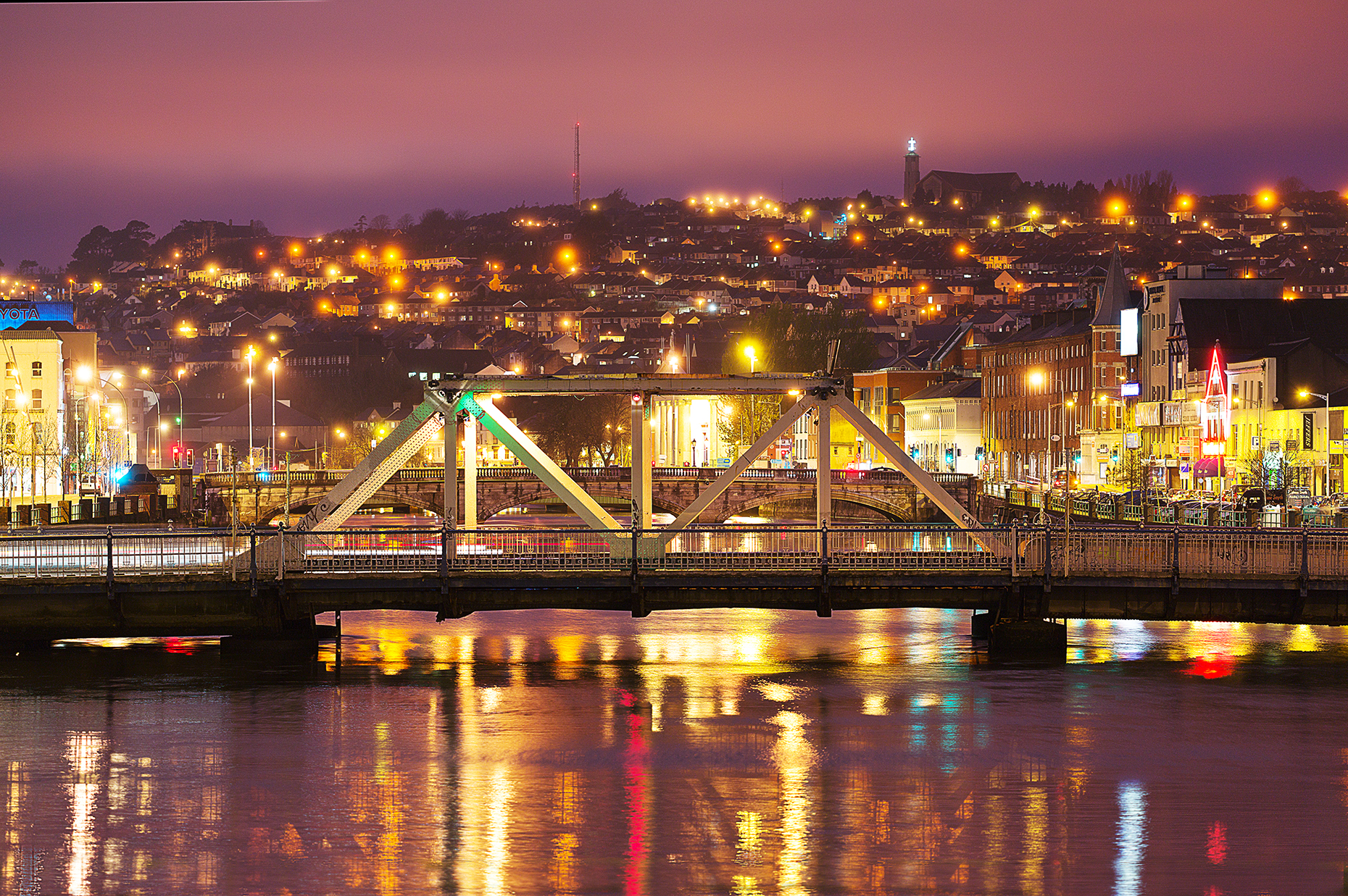 Cities at Night - Cork