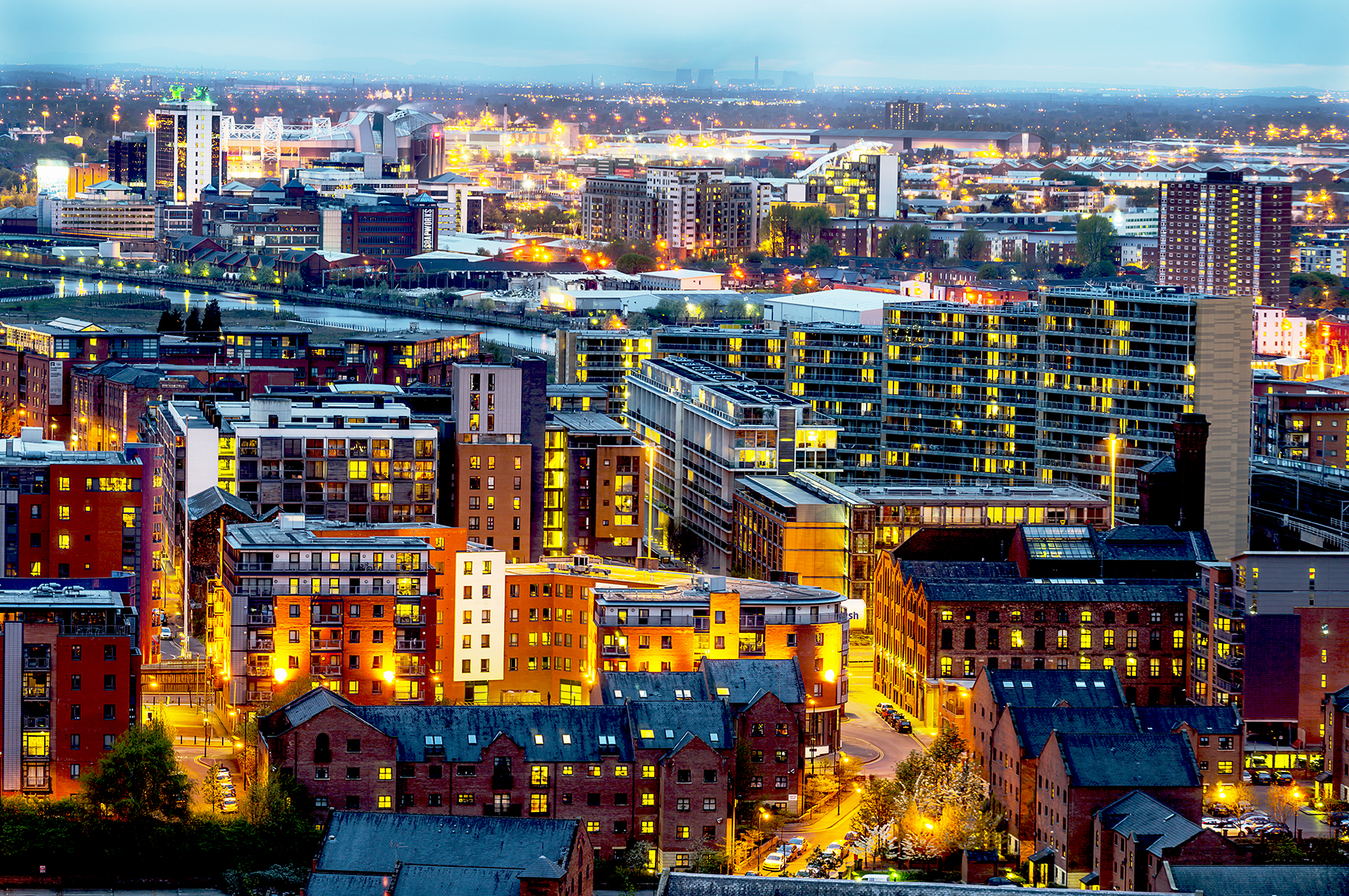 Cities at Night - Manchester