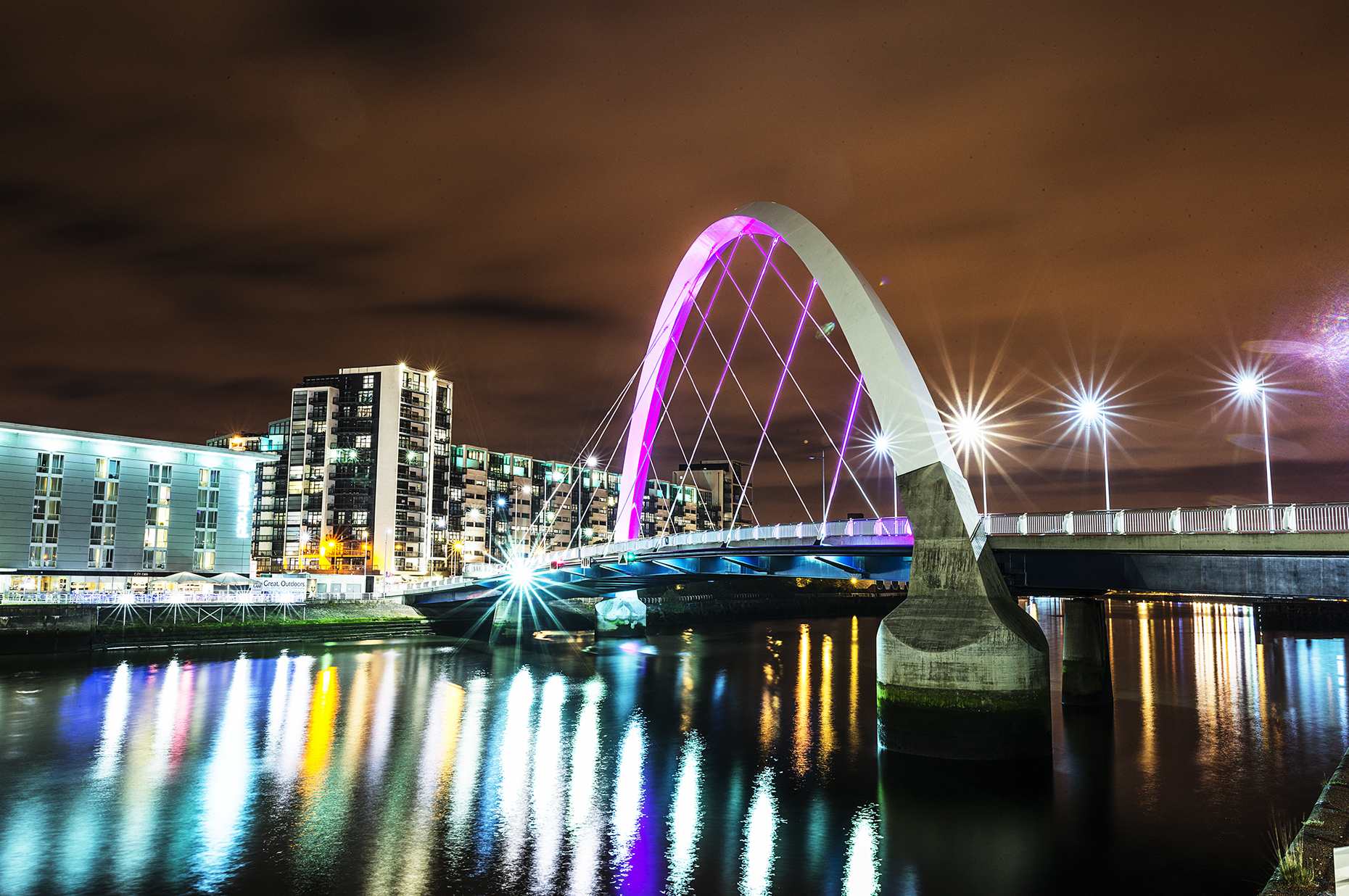 Cities at Night - Glasgow