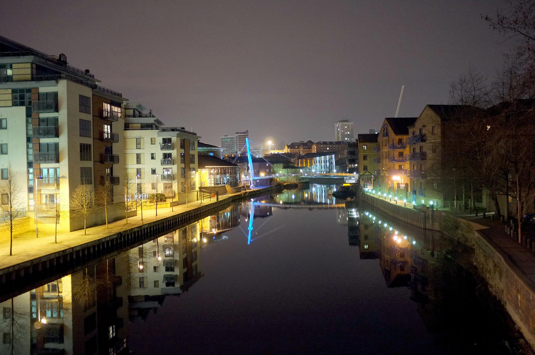 Cities at Night - Salford